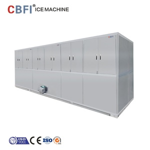 CBFI PLC System Design 1-20tons Industrial Ice Cube Maker Machine