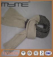 latest hot style fans scarf knit scarf for suits factory sales(Accept custom)