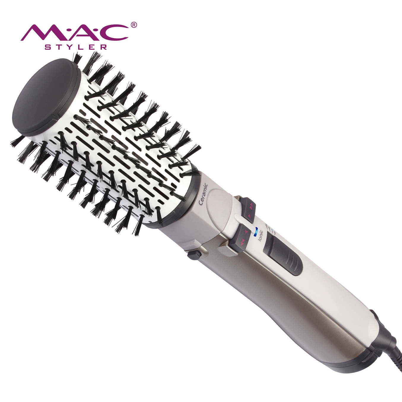 5 In 1 Hair Brush Professional Brush Straightening Comb Hair Tool Straightener With Removable Comb Heat Brush