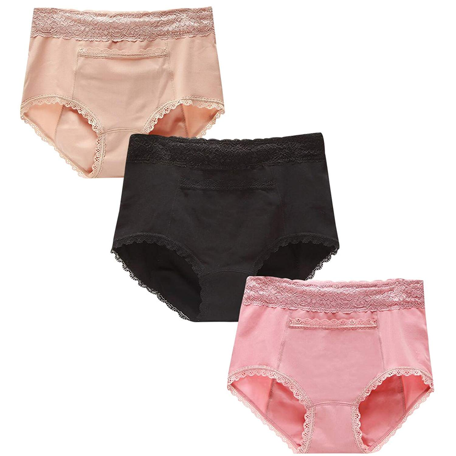 28c23afba581 Get Quotations · The B-Style TB Women Panties Cycle Period Briefs Leak-Proof  Menstrual Period Underpants