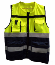 ansi class 2 breakaway safety vest / 3m reflective parka