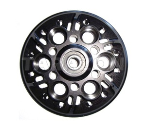 Aluminum clutch pressure plate of racing bike for ducati