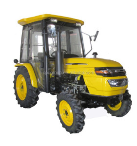 chinese 304 30HP 4WD tractor with cab small tiller cultivator