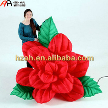 Giant Inflatable Rose Flower/ Artificial Rose Decor/ Wedding Decorative Red Rose