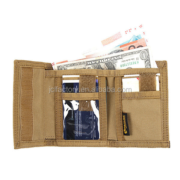 waterproof nylon zipper wallet portable wallet mens