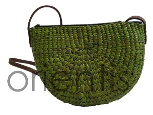 Handcrafted Bag Weaved From Water Hyacinth Grass