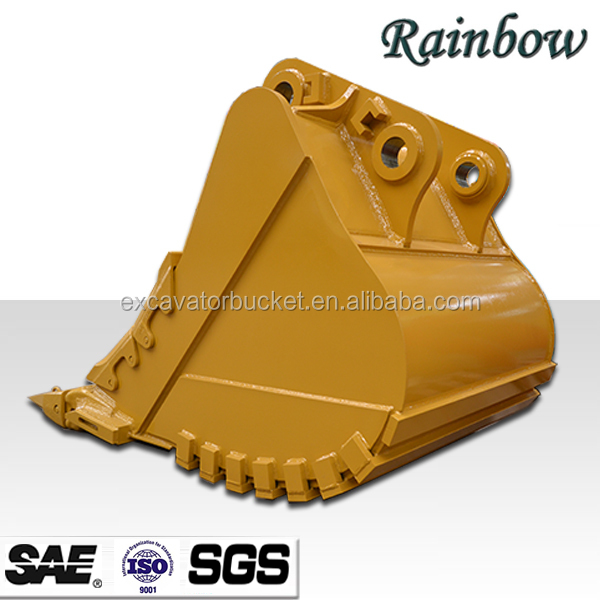 High quality excavator rock bucket heavy duty bucket for bad work environment