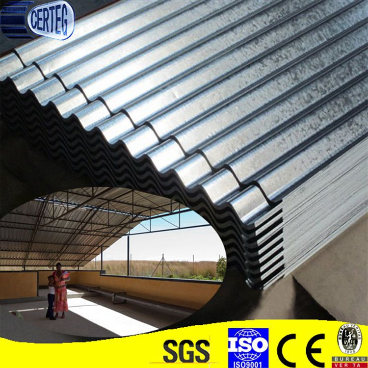 Galvanized metal roofing sheet roofing tile for livestock farm/ poultry farm
