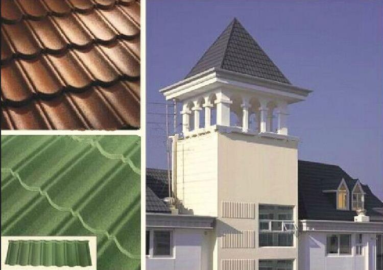 Galvanised Sheet Metal Vanguard Roll Roof Tile Galvanised