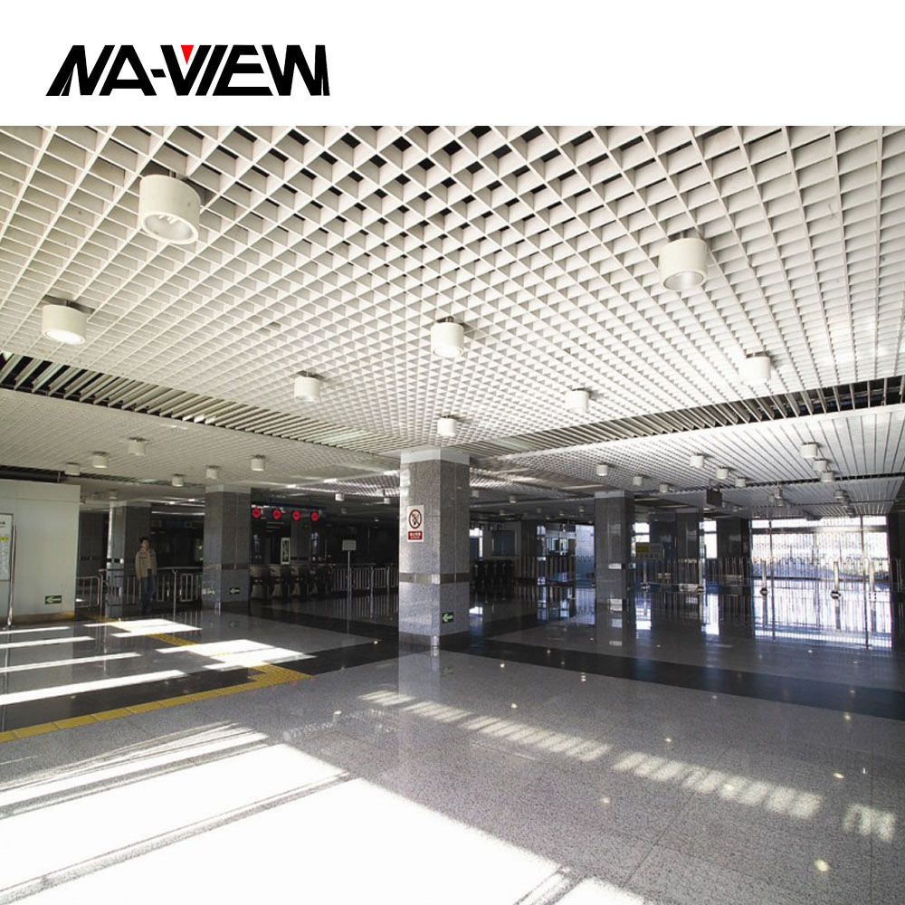 false standard open cell acoustic celling tile board