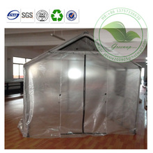Fashion Design Steel Tube Transparent PVC Garden Grow Ten
