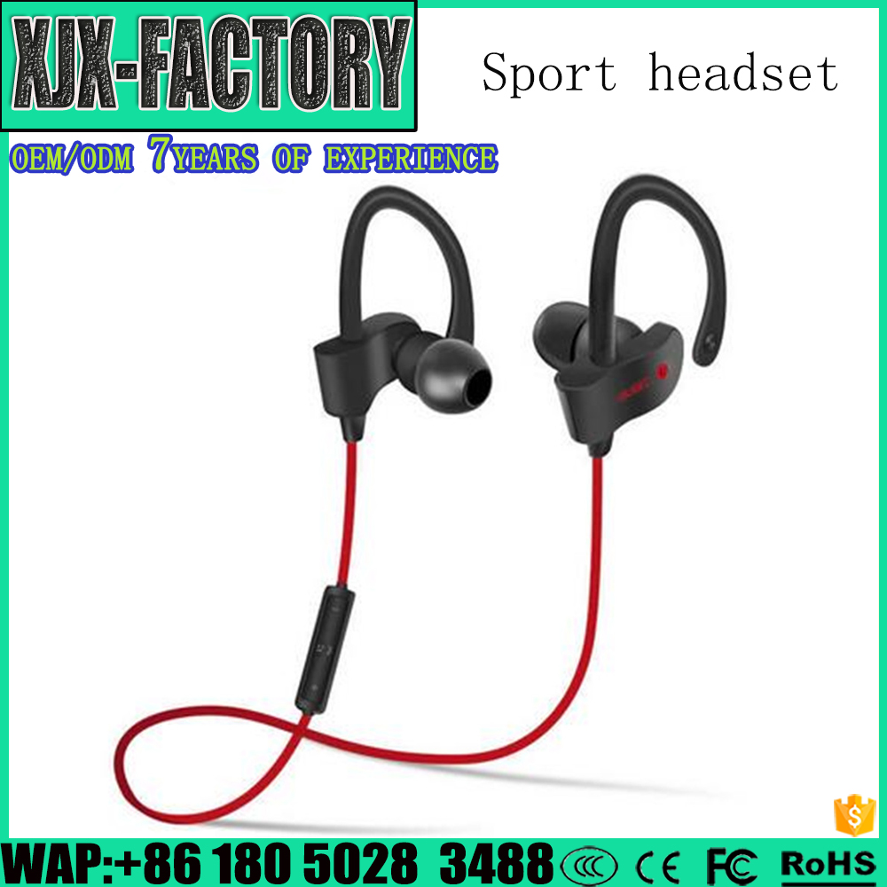 High quality machine grade earphone with mic Headset Stereo Earplugs with Microphone for IPhone