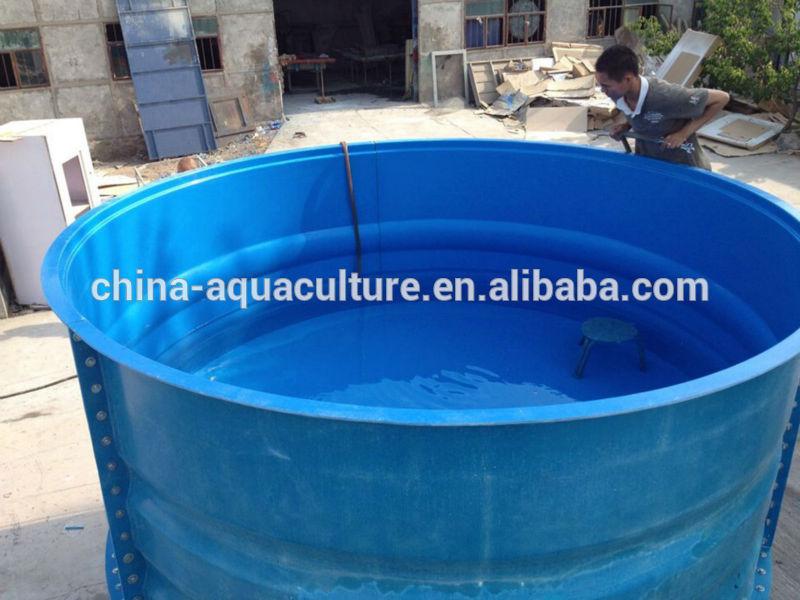 Large fiberglass aquaponics tank for sale buy fiberglass for Aquaponics fish tank for sale