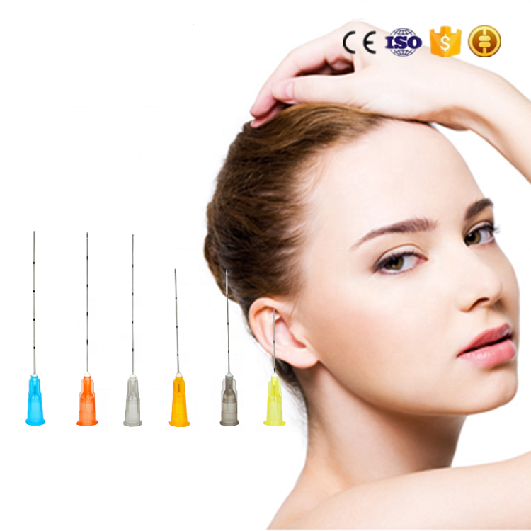 Beauty product blunt Micro Cannula Needle mesotherapy22g 50mm for Fillers