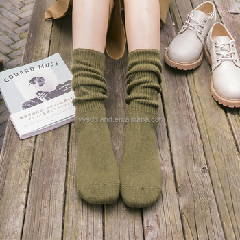 W8385 New fashion Natural linen Eco womens Organic linen socks
