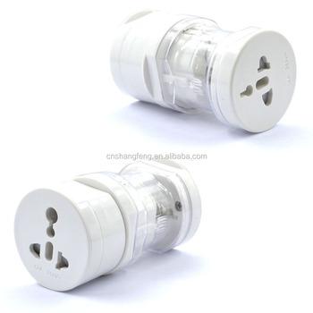 White Uk Us Au Eu Plug World International Travel Ac Adapter Power ...