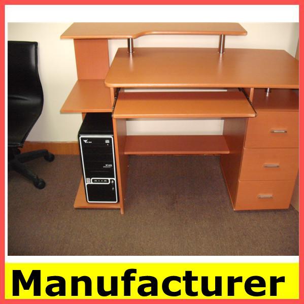 Caliente la venta de fotos de madera escritorio de la computadora tabla de la computadora mesas - Mesas para ordenadores portatiles ...