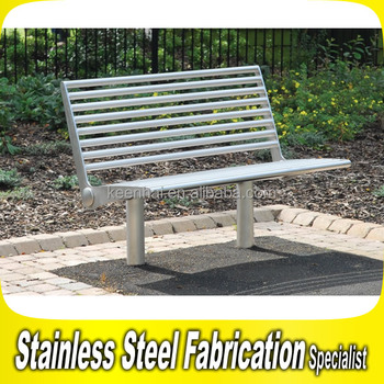 Outdoor Bench Brackets Stainless Steel Park