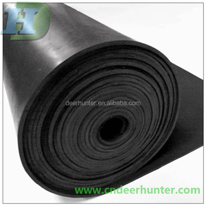 Antislip Rubber Mat, Fine Ribbed Rubber Sheet