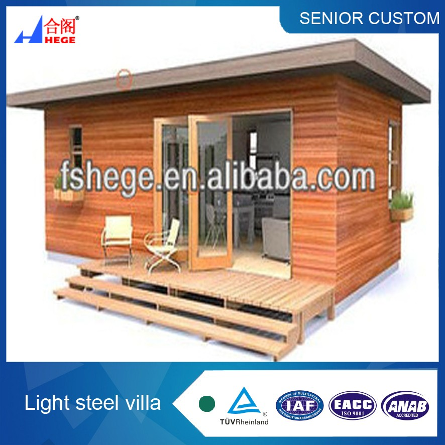 prefabricated wooden house villa wooden house