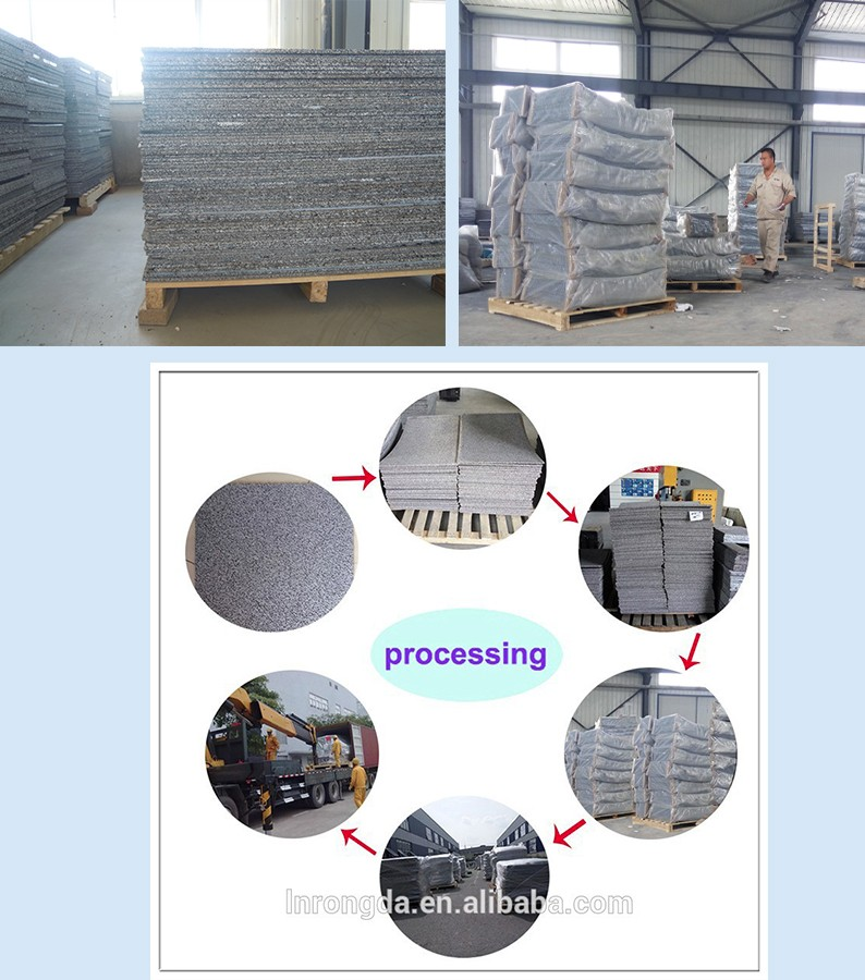 Perforated steel plate composite open celled acoustic panel