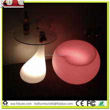 amusement park/ swimming pool light coffee tables wholesale