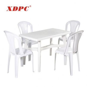 Plastic Table And Chair Asian Style Outdoor Balcony Furniture Buy