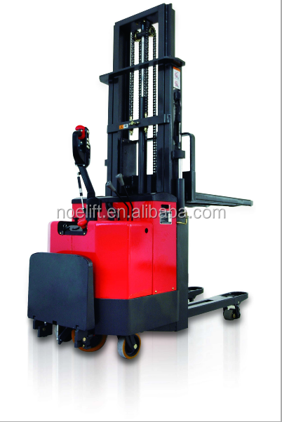 fantuzzi reach electric stacker with speed limited/kalmar reach pallet stacker machine for bargin/Hangzhou high quality