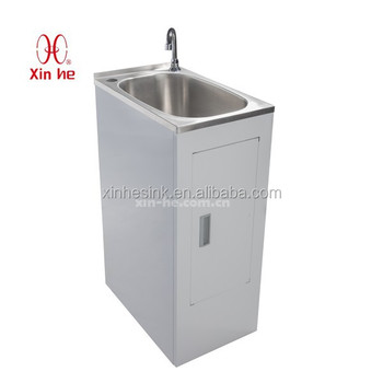 Popular Economy Stainless Steel Laundry Sink Cabinet Buy Stainless
