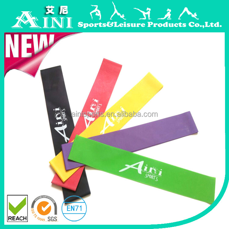 Latex Exercise Circle Band, Fitness Expander Band