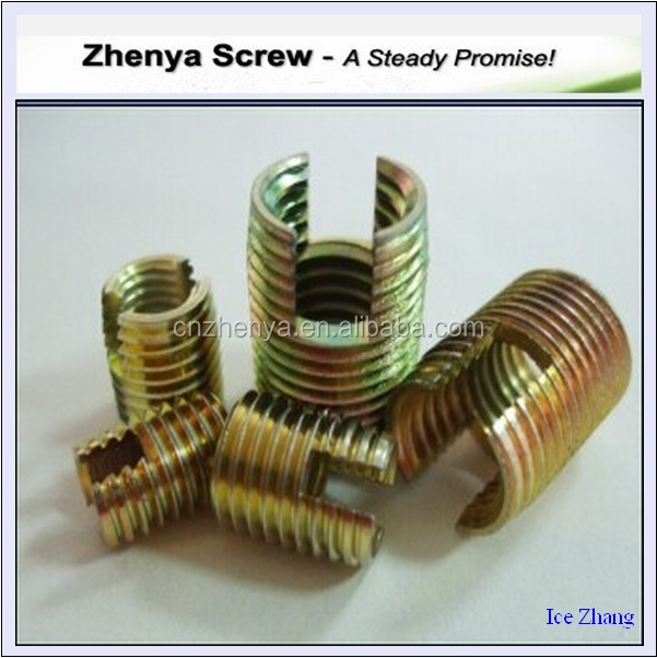 Fastener Stainless Wire Thread Inserts For Aluminium M2-m30 Self ...