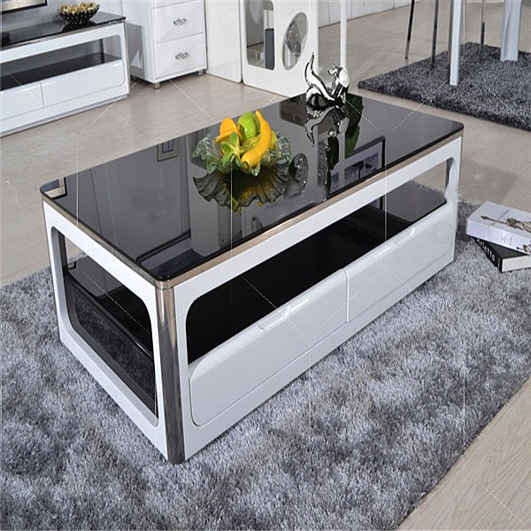 Hot Tempered Glass Tea Table/coffee Table Price