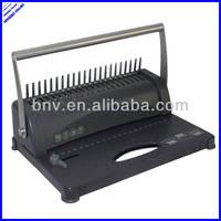 A4 multi functional manual book binding machine plastic spiral binding machine