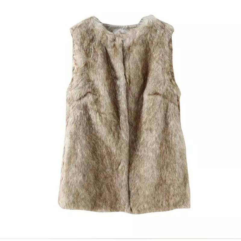 4ba2739a5681b Buy Jushye Hot Sale Faux Fur Vest