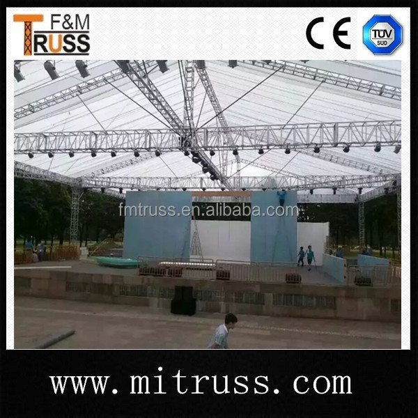 heavy duty lighting truss system with pvc for outdoor performances