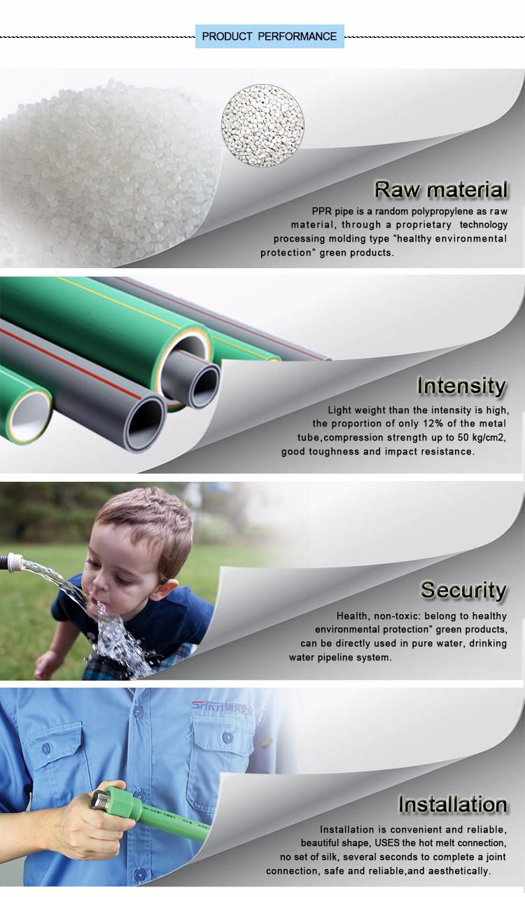 Filter PPR fittings of  plastic ball valve