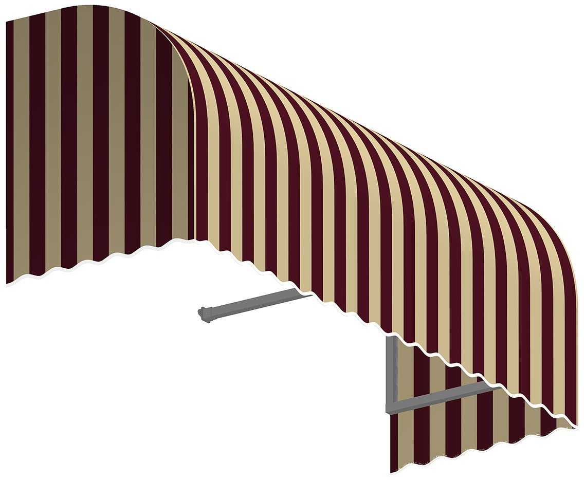 Beauty-Mark RS22-A-4BT Window/Entry Awning, Multicolor