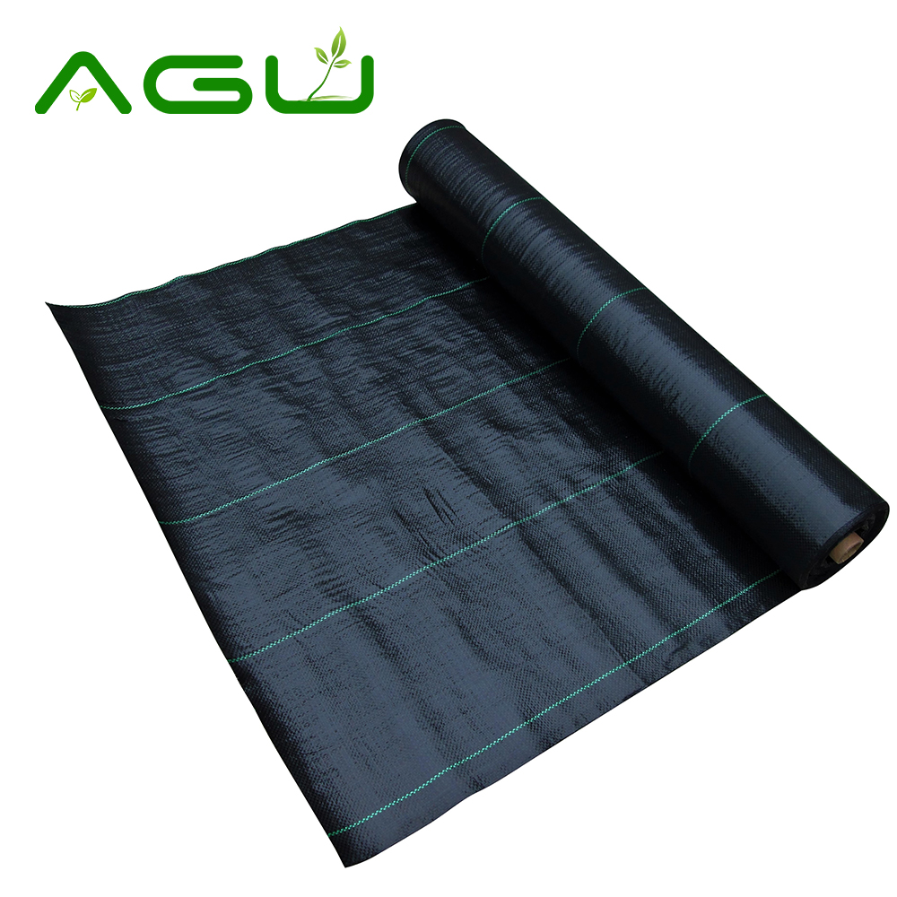 Alibaba Best Sell Ground Cover Weed Mat PP Woven and Nonwoven Fabric Roll