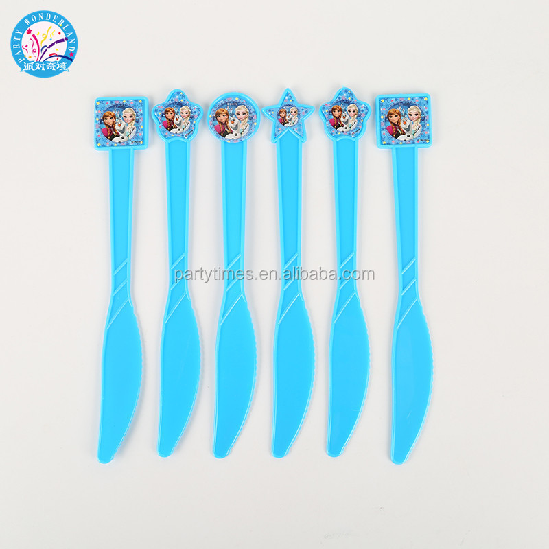 wholesale kid frozen party supplies Children's birthday party supplies decorations paper set