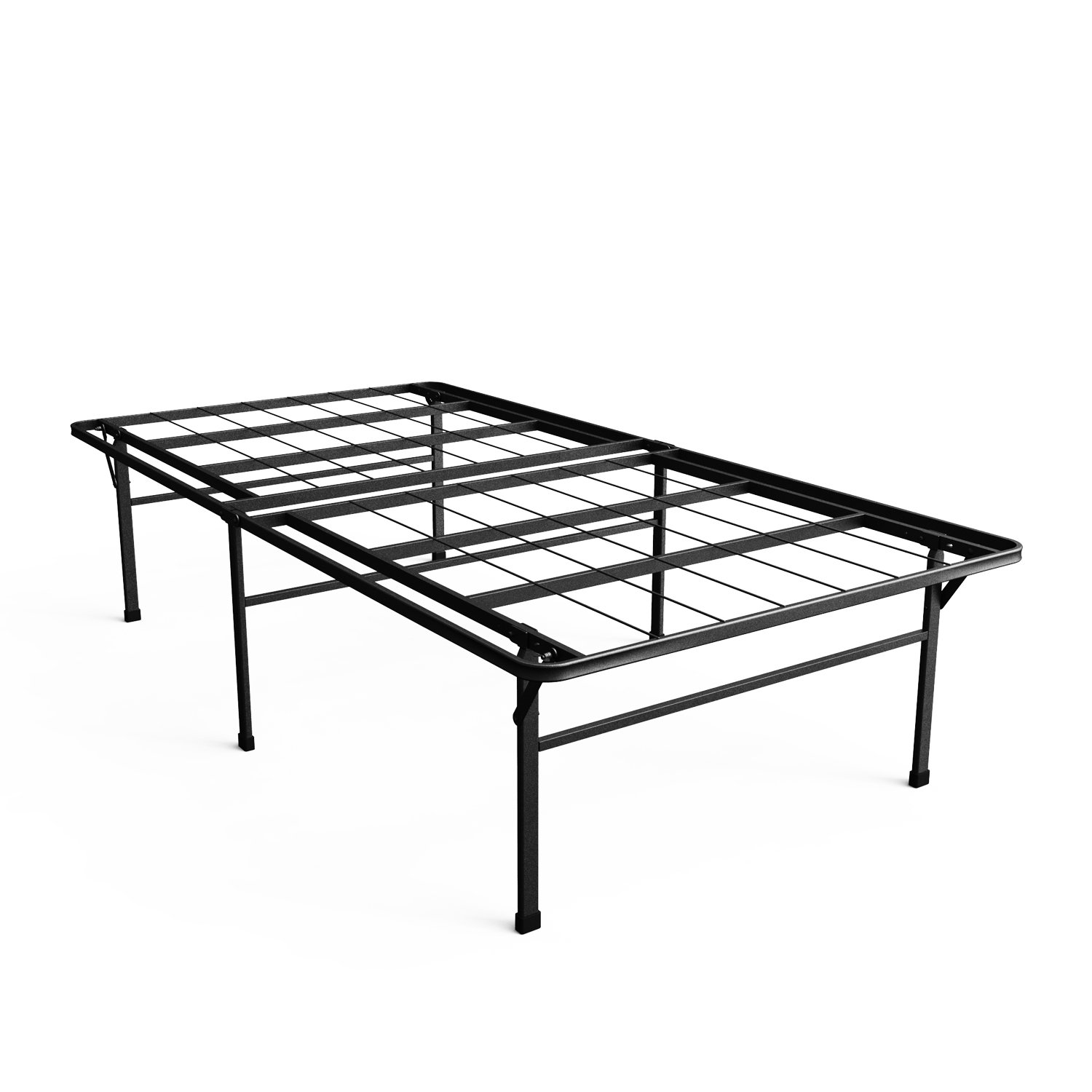 """Zinus 18-Inch Smart Base Mattress Foundation4/"""" High Extra for under bed"""