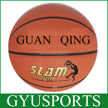 PVC rubber shiny new design basketball