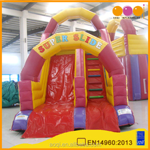 AOQI High quality PVC huge inflatable water slide slip for sale