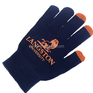 086b5bc65a0 Soft Touch Custom Logo Winter Gloves Acrylic Knit Promotion Gift Gloves