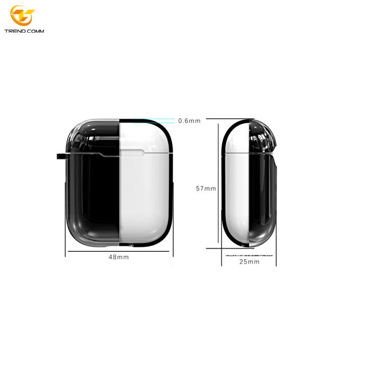 Hard Plastic Wireless Customized Earpod Earphone Case for Apple