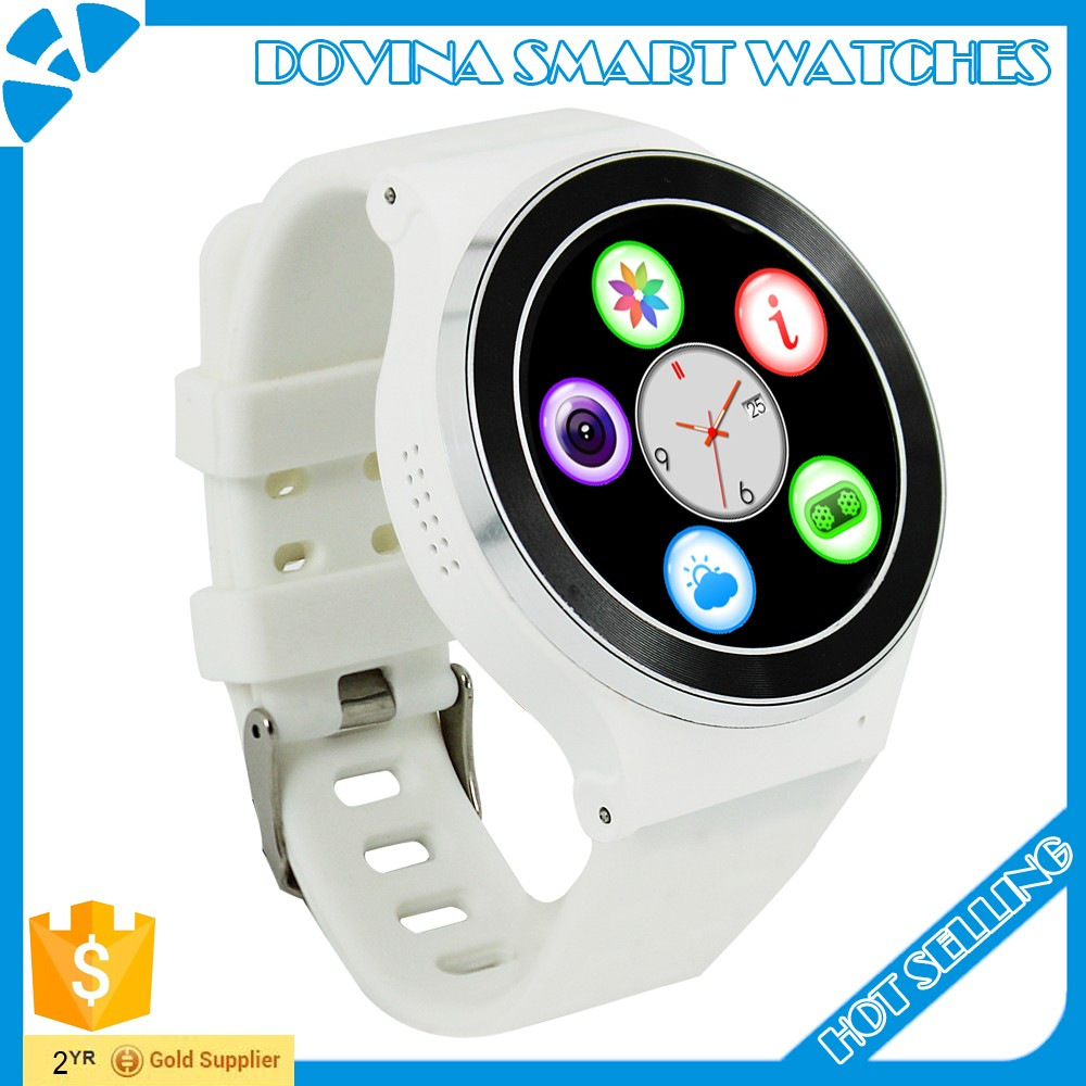 Smartwatch full round screen 3G android 5.1 GPS smart watch