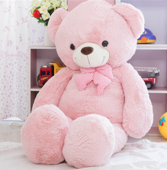 Wholesale Lovely Soft Big Pink White Blue Bears Plush Toy Cuddly