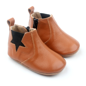 4 Sizes Leather Baby Ankle Boot