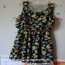 used clothes/used young girl sexy outlets vest dress