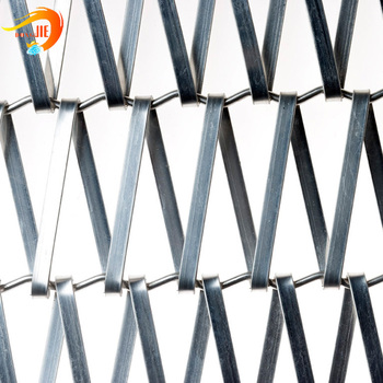 Balance Weave Decorative Flat Wire Spiral Wire Mesh Architectural ...