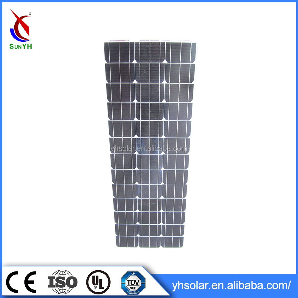 China 6.5kg solar panel , solar power of high efficency solar panels 70W